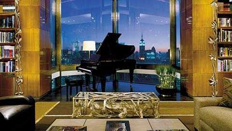 Spend the night in one of the world's highest and most luxurious penthouses