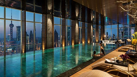 Enjoy an unforgettable after-hours party for two at a sky-high infinity pool