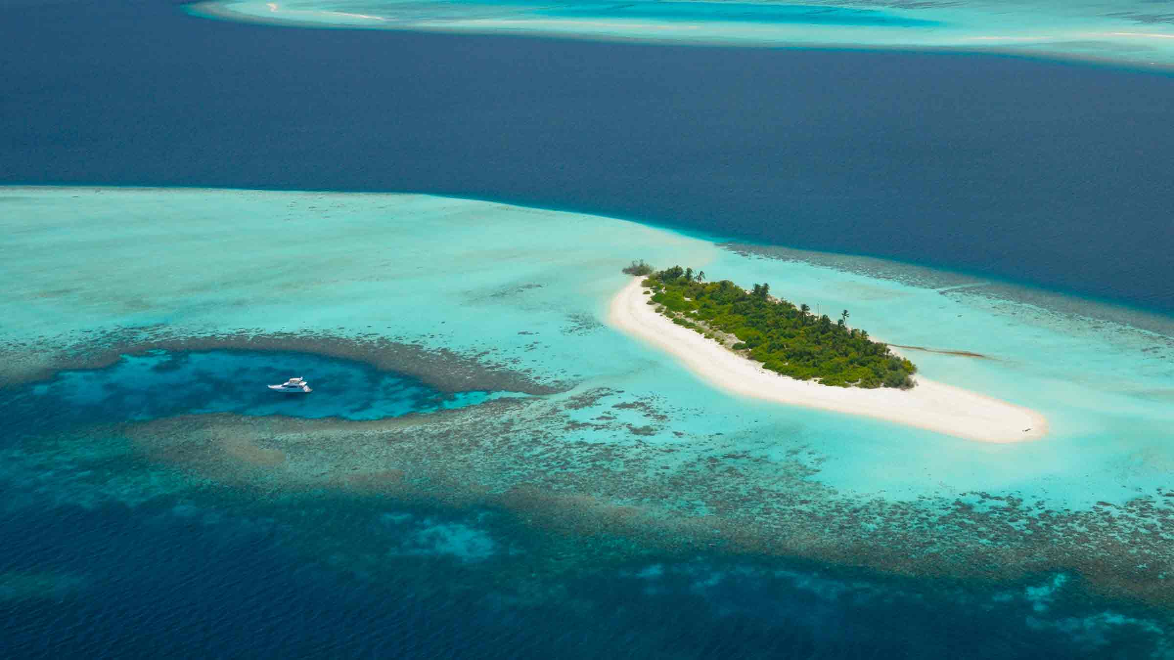 Get Away to a Private Island in the Maldives