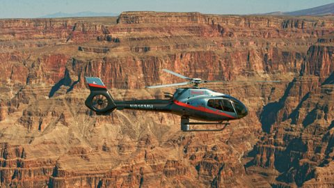 Soar above the neon of Las Vegas and the natural wonders of the desert