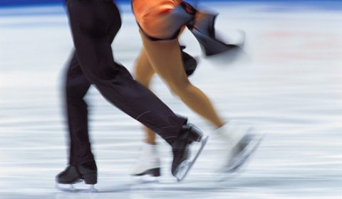 Figure-skate with a two-time Olympic medalist