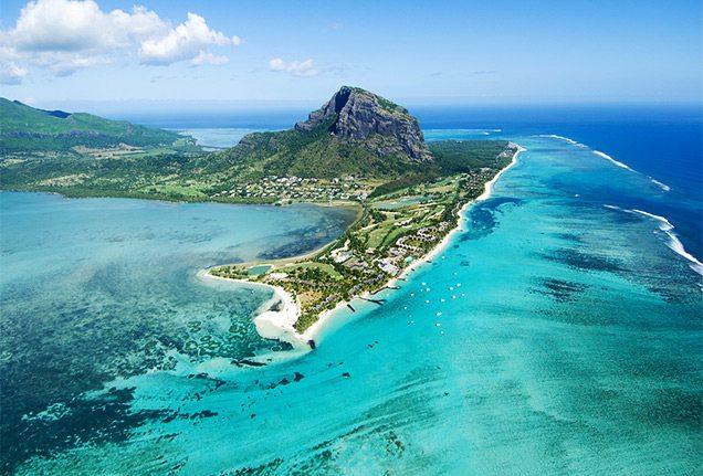 Above Mauritius