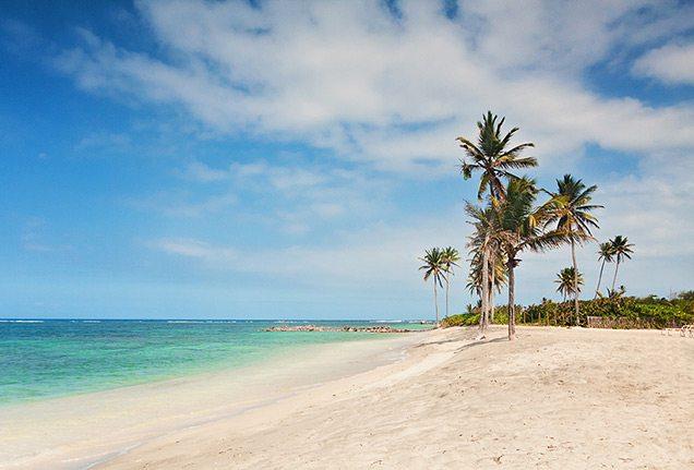 Nisbet Beach, Nevis