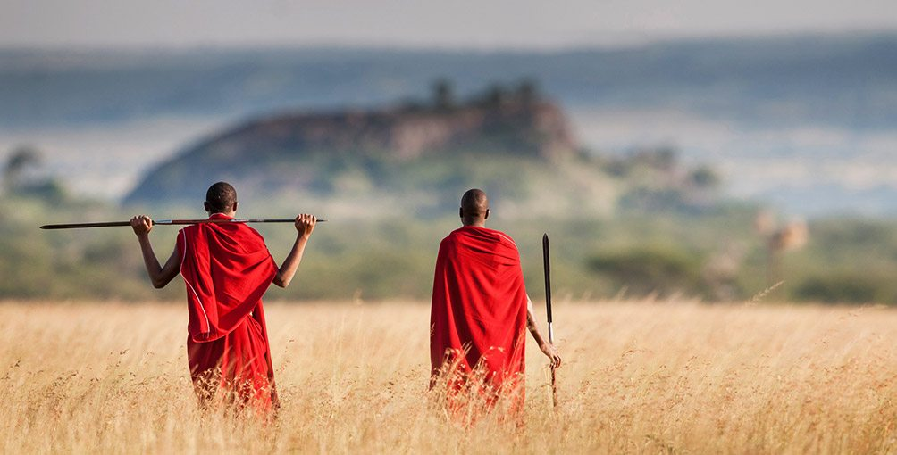 Four Seasons Serengeti Walking Tour, Maasai