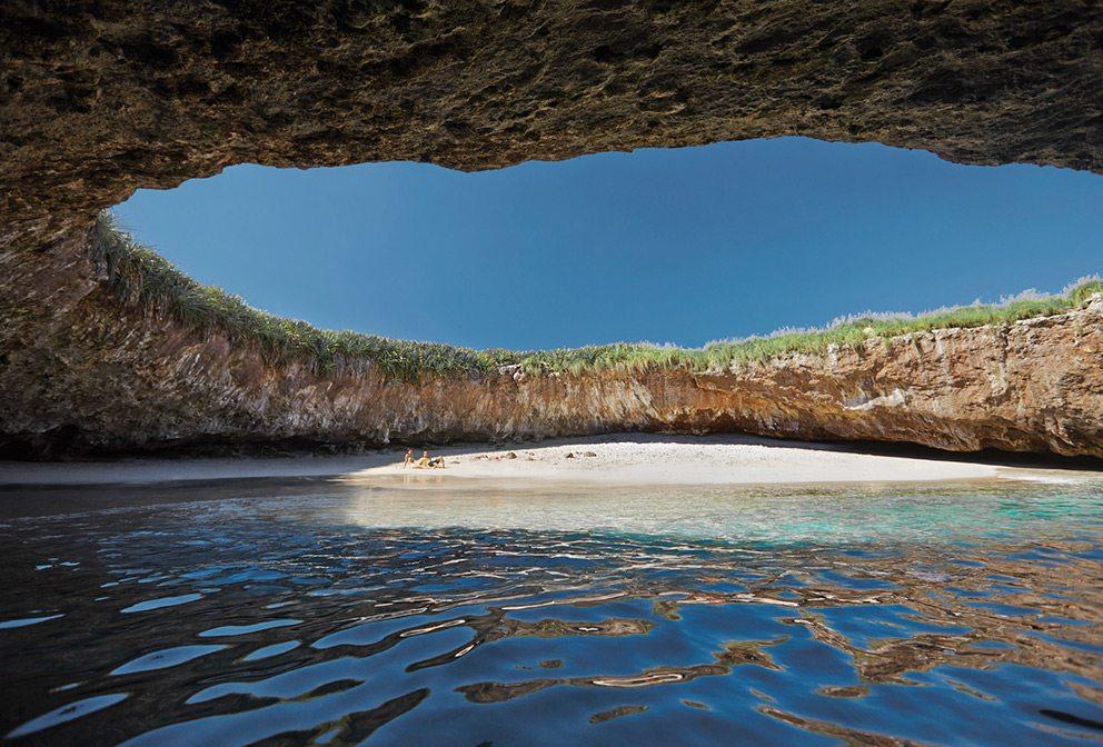Hidden Beach at Marietas Islands