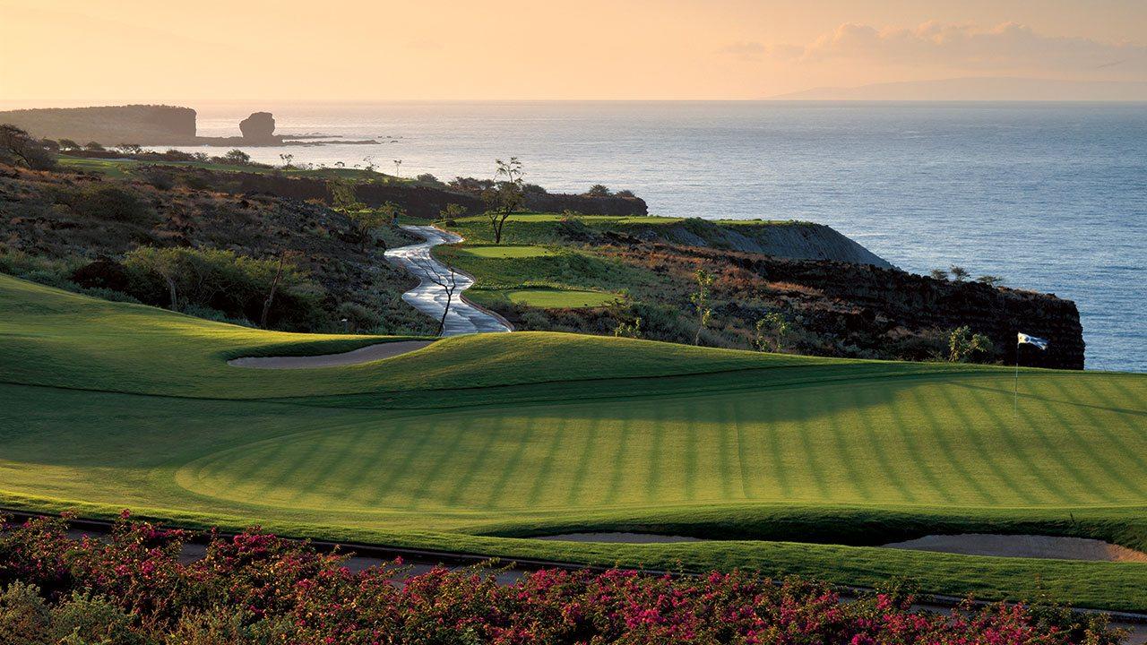 Play golf at Four Seasons Lanai