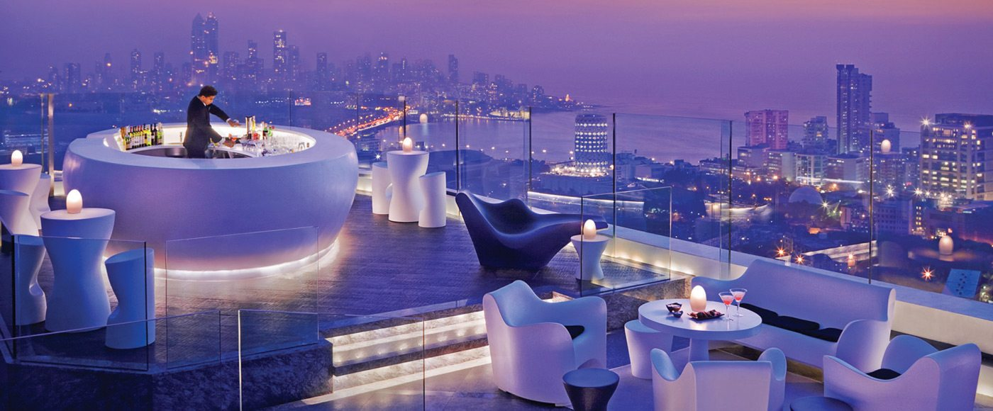 AER spans the entire roof at Four Seasons Hotel Mumbai and is open year round.