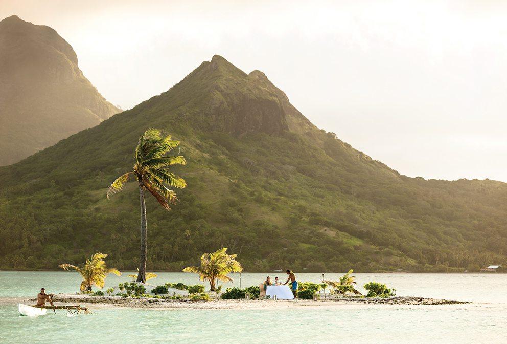 Bora Bora Private Island Dining