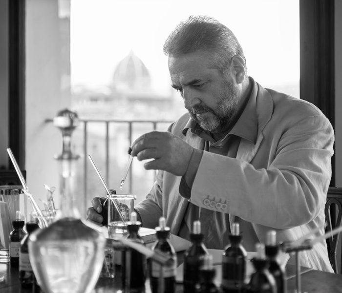 Scent maker Lorenzo Villoresi
