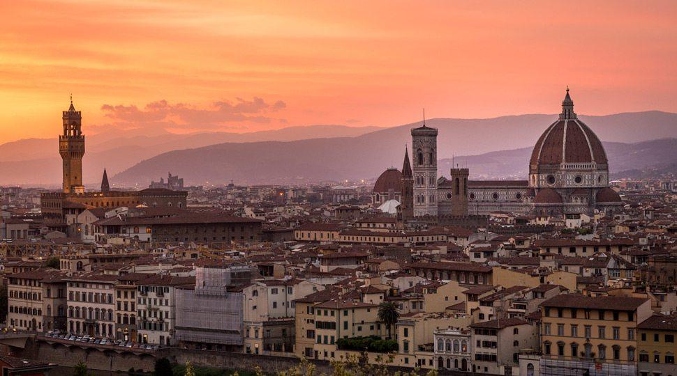 Florence Skyline Duomo