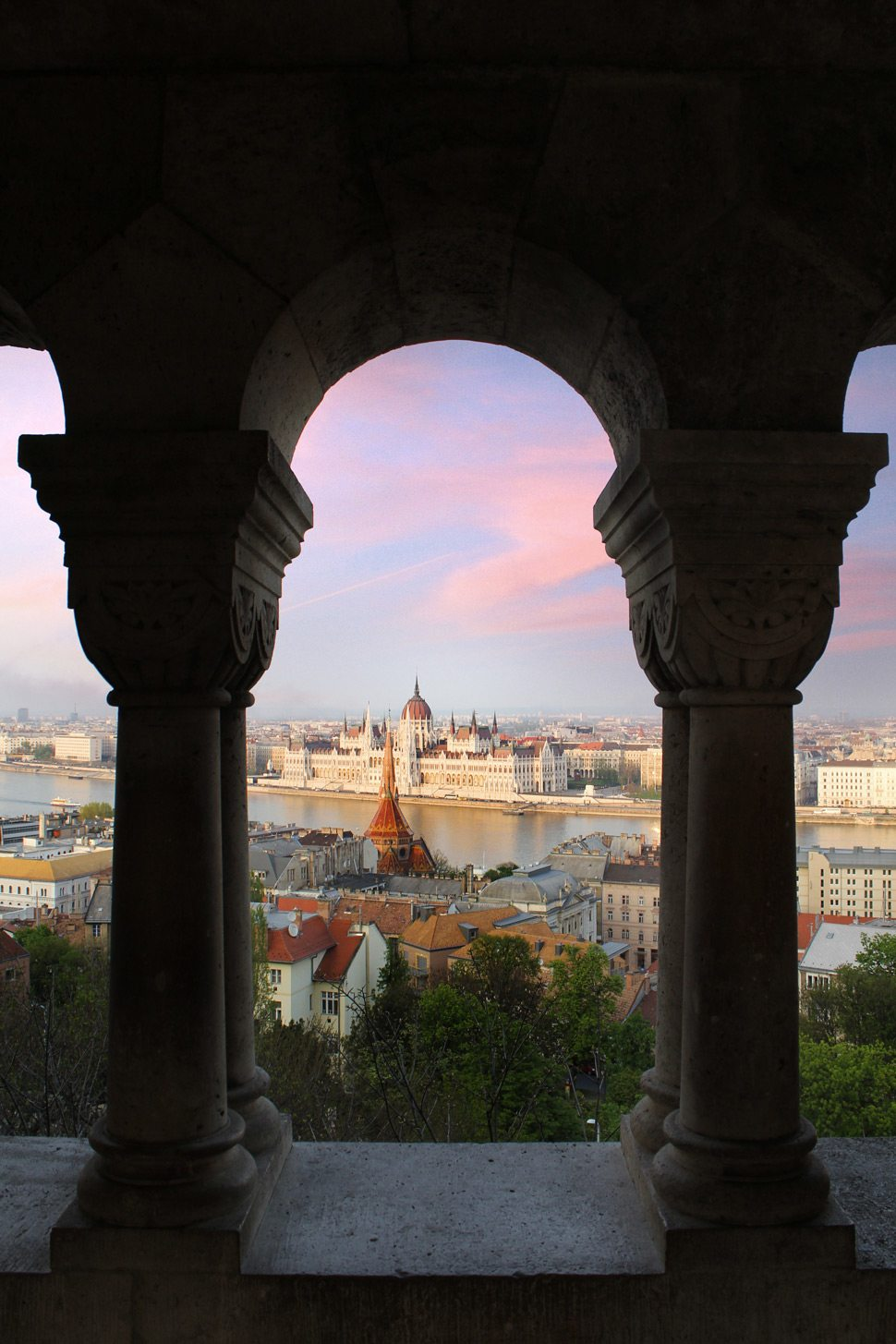 View in Budapest