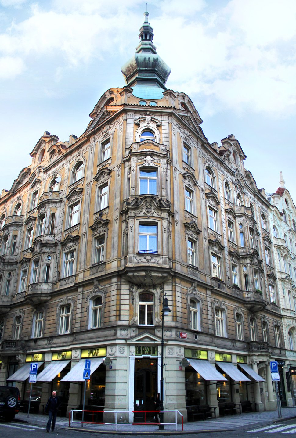 Architecture in Old Town Prague