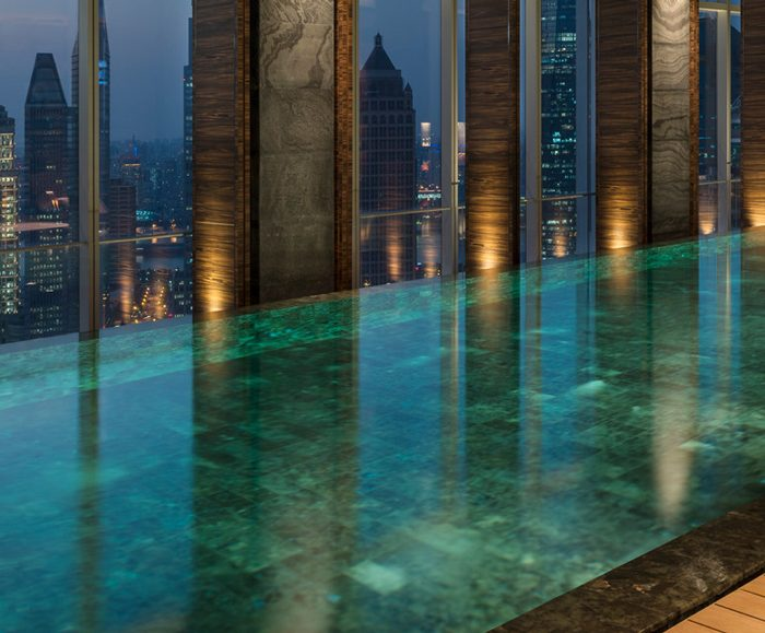 Pool at Four Seasons Shanghai Pudong