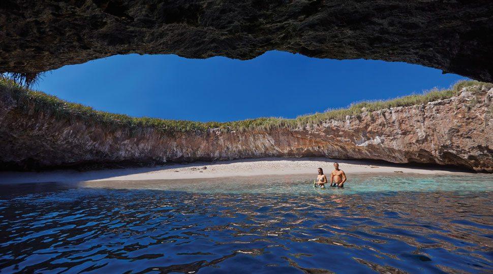 Beach in Punta Mita, Mexico