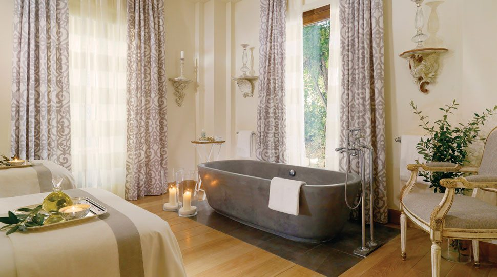 The spa at Four Seasons Hotel Firenze in Florence, Italy