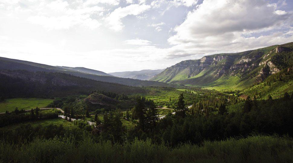 Scenic Vail, Colorado