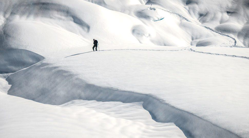 Ice cap in British Columbia