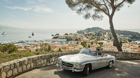 Drive a vintage convertible around southern France and Italy for a charming European road trip
