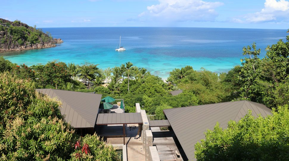 Views from Four Seasons Seychelles