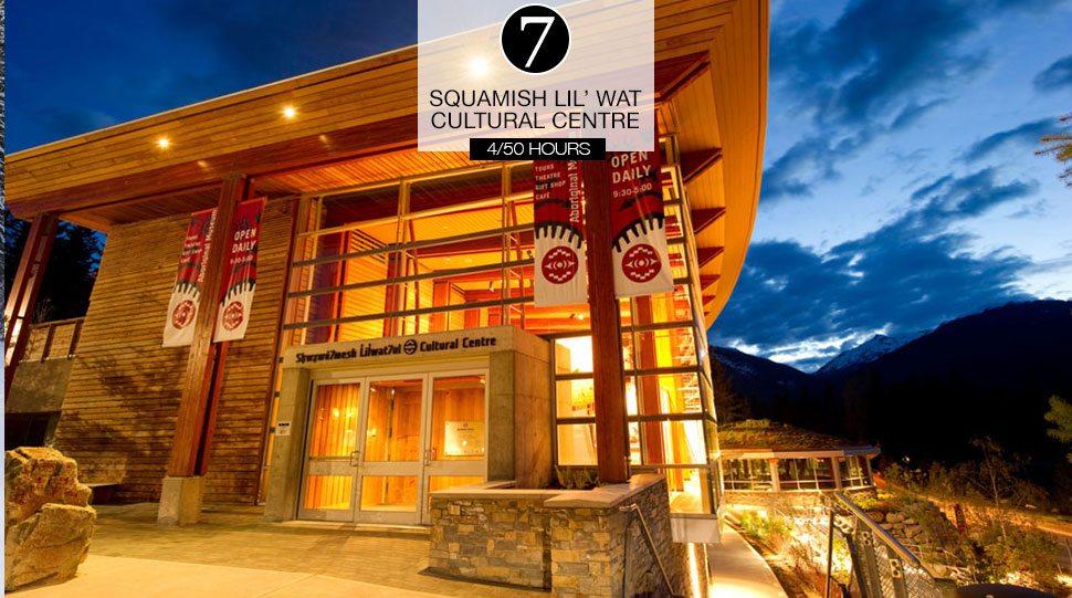 Squamish Lil'wat Cultural Centre, Whistler.