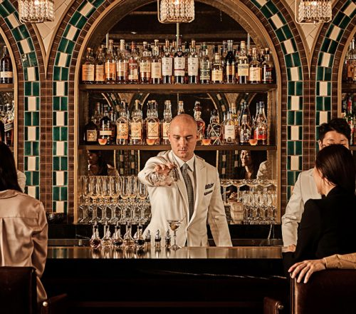 Head Mixologist at Four Seasons Seoul, Lorenzo Antinori