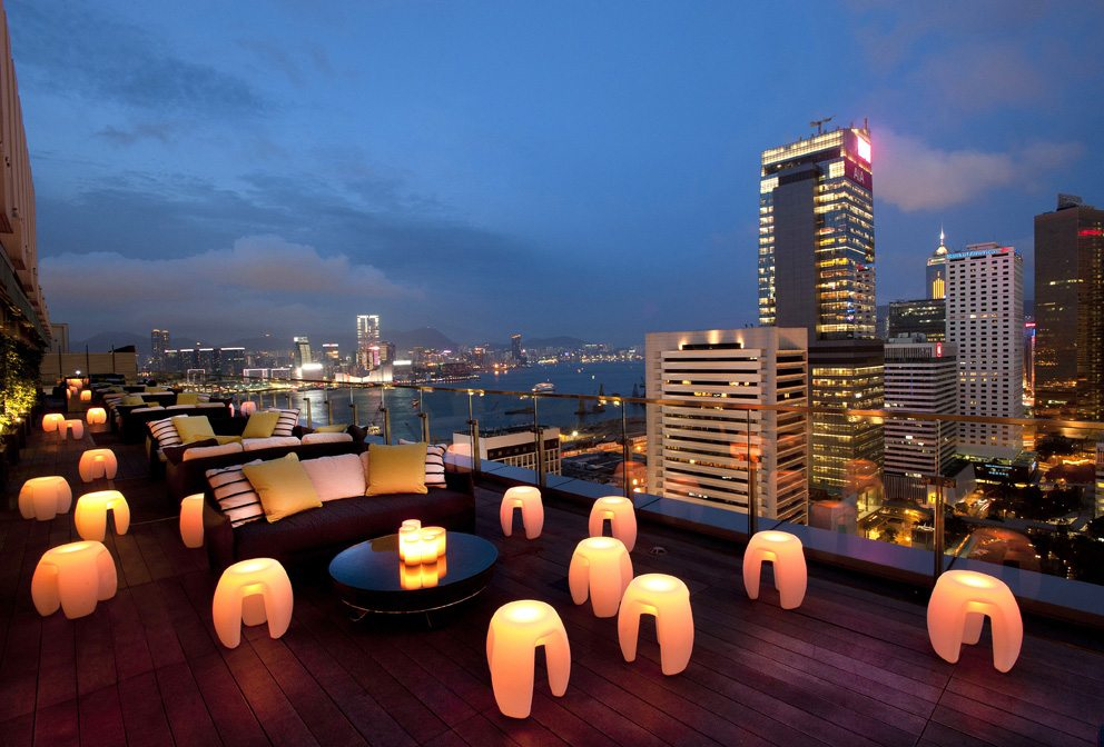 Hong Kong Sevva Rooftop Bar