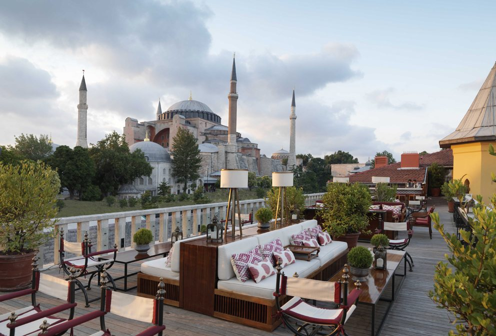 A'YA Rooftop Lounge at Four Seasons Istanbul