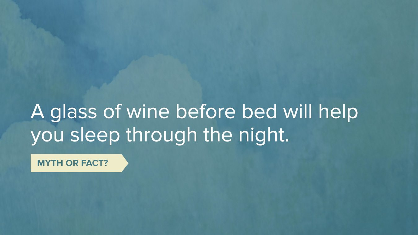 Sleep tips about drinking wine before bed