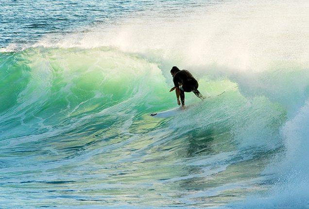 Best surf spots: Surfers Paradise beach in Gold Coast, Australia
