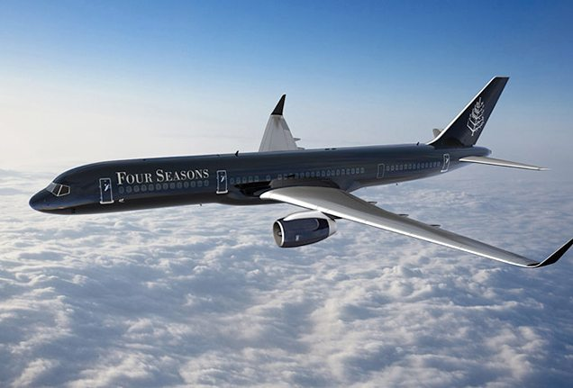 Four Seasons Boeing 757 Private Jet