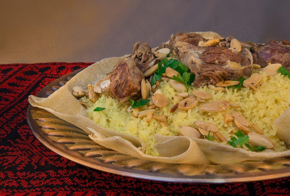 Ramadan Jordanian mansaf