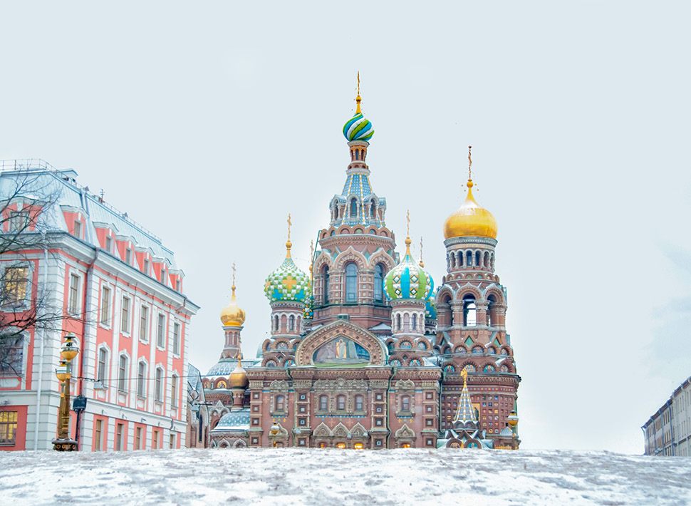 St Petersburg in the winter