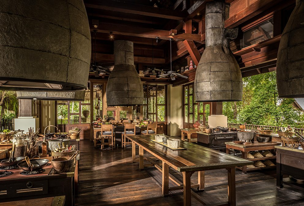 Cooking school at Four Seasons Resort Chiang Mai