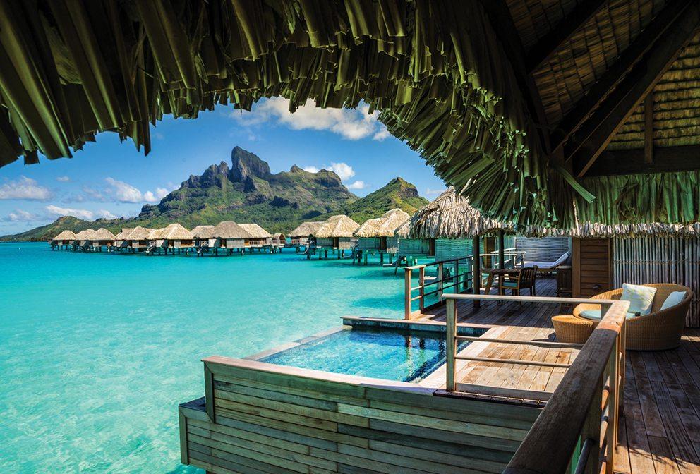 Four Seasons Bora Bora view