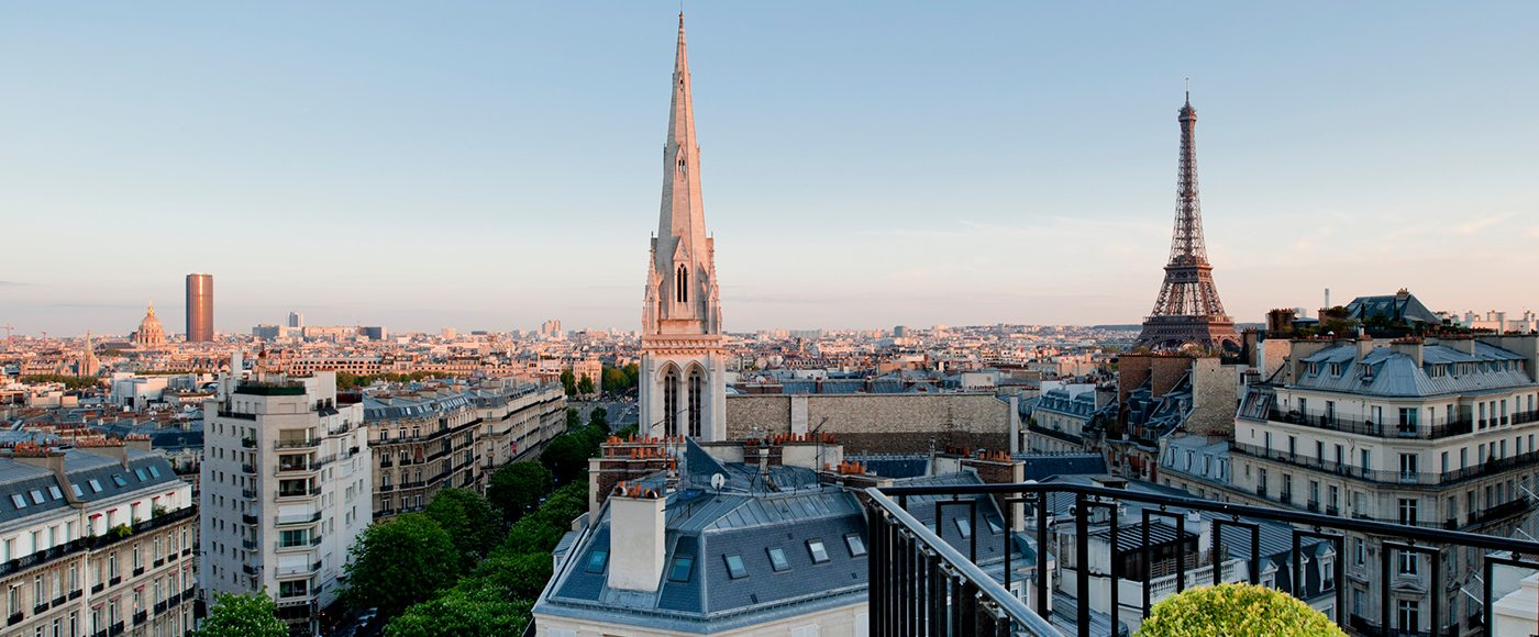 Four Seasons Paris view