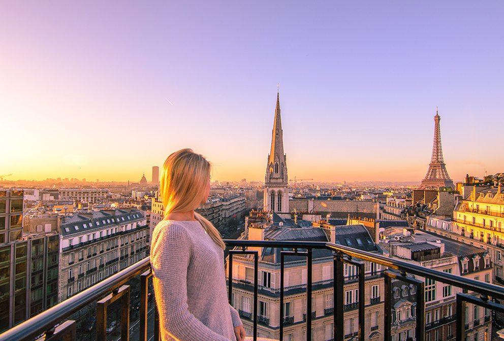 Four Seasons Paris view