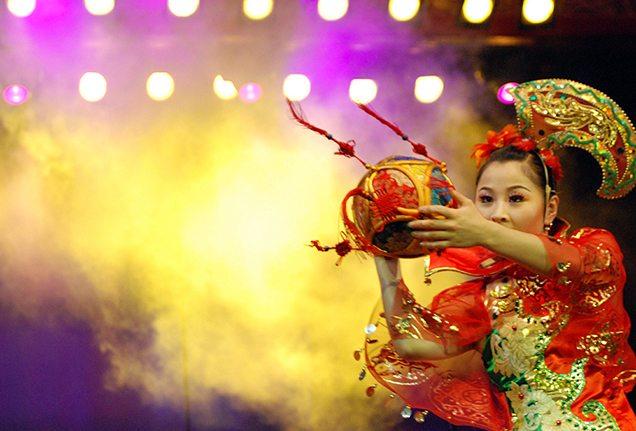 Chaoyang acrobats in Beijing