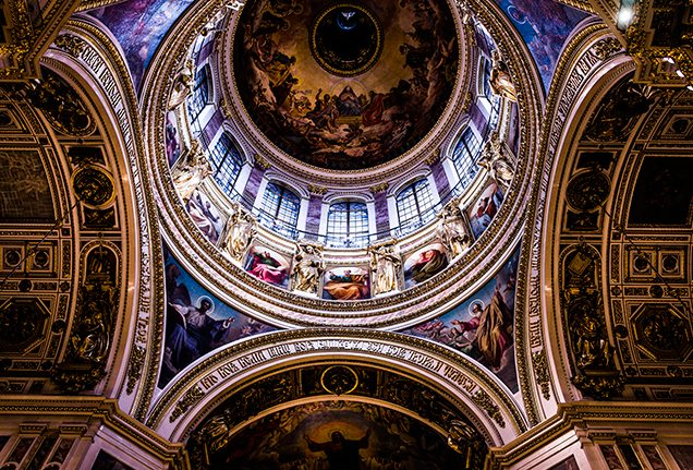St Isaac's Cathedral in St Petersburg
