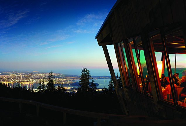 The Observatory restaurant, Grouse Mountain, Vancouver