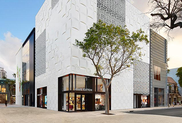 Louis Vuitton in Miami Design District