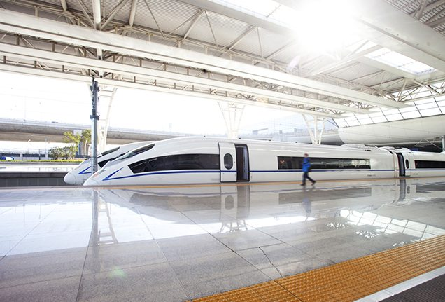 High-speed trains in China