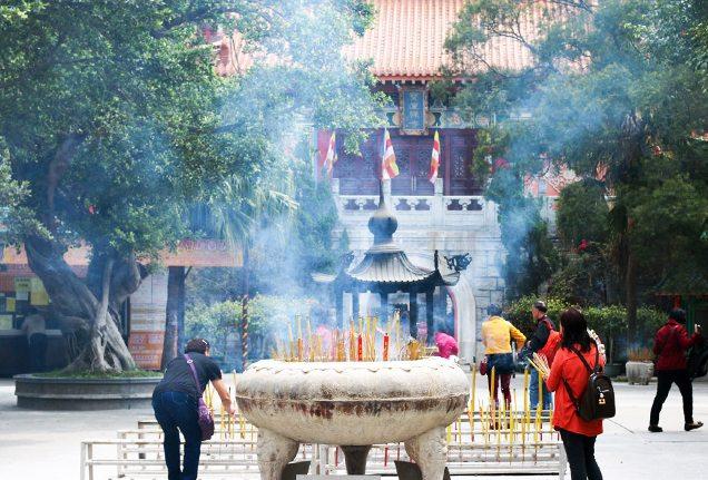 Katie Dillon - Po Lin Monastery, Hong Kong
