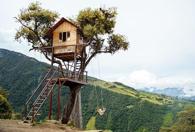 Lesley Murphy - Las Casa Del Arbol, Banos, Ecuador