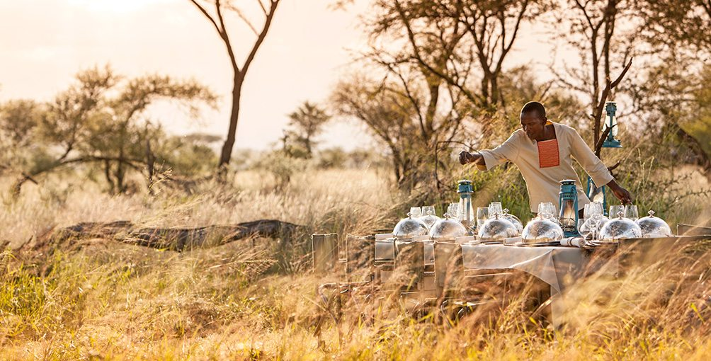 Four Seasons Serengeti Bush Dining