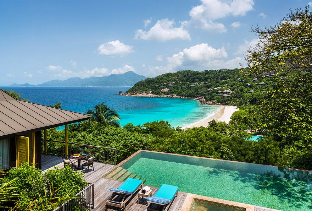 Four Seasons Seychelles View from Ocean View suite