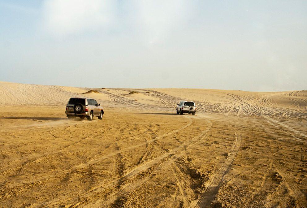 Doha Sand Dunes