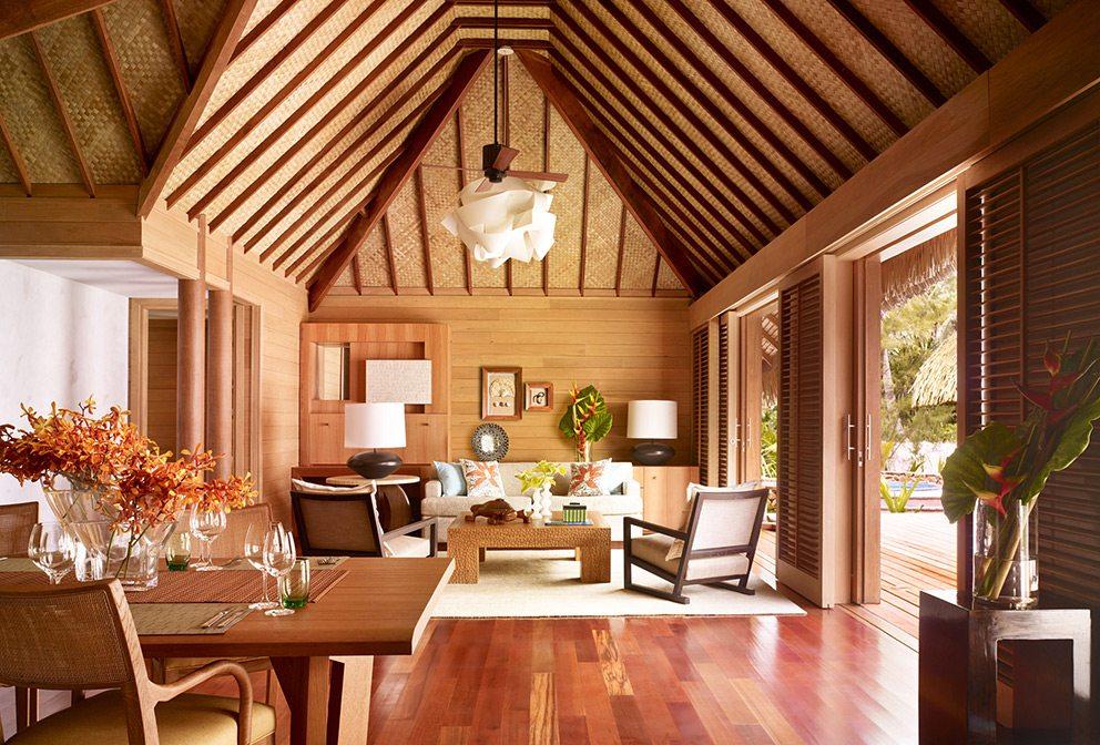 Four Seasons Bora Bora One-Bedroom Deluxe Fenua Beachfront Villa