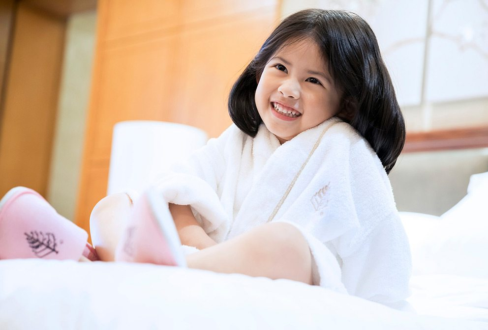 Four Seasons Guest - Young Girl, Bedtime