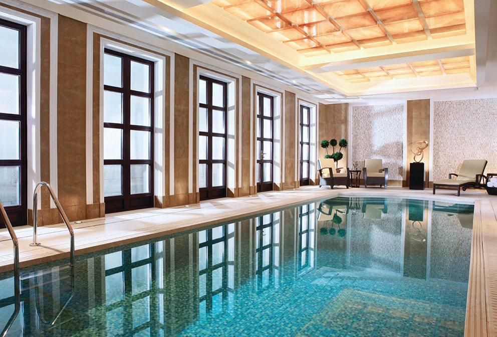 Four Seasons Hangzhou Presidential Villa Indoor Swimming Pool