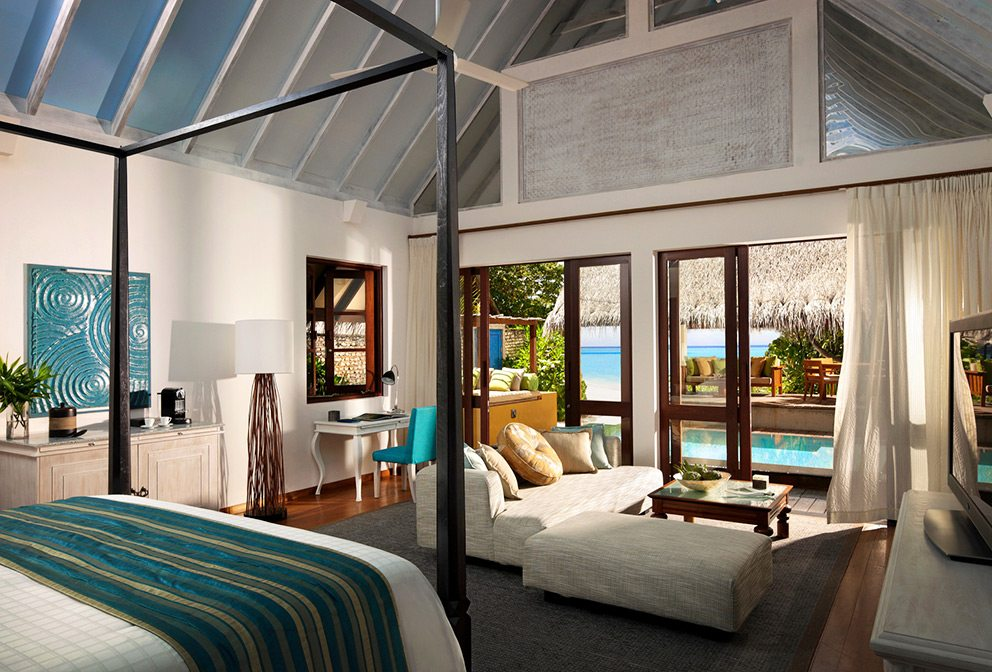Four Seasons Maldives LG Two-Bedroom Family Beach Bungalow